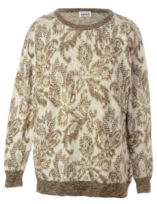 Paisley Pattern Jumper