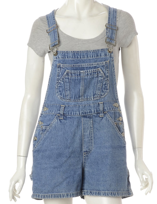 Pinafore Cropped Dungarees
