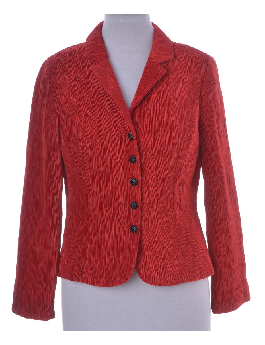 Beyond Retro Label Polyester Blazer
