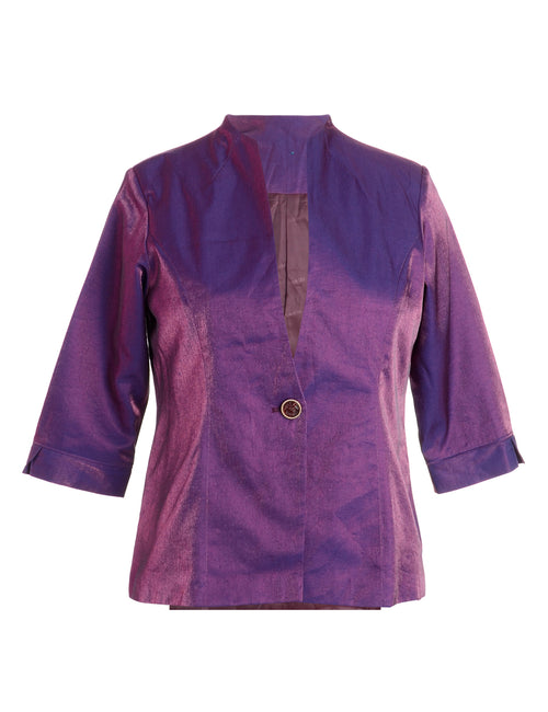 Purple Evening Jacket