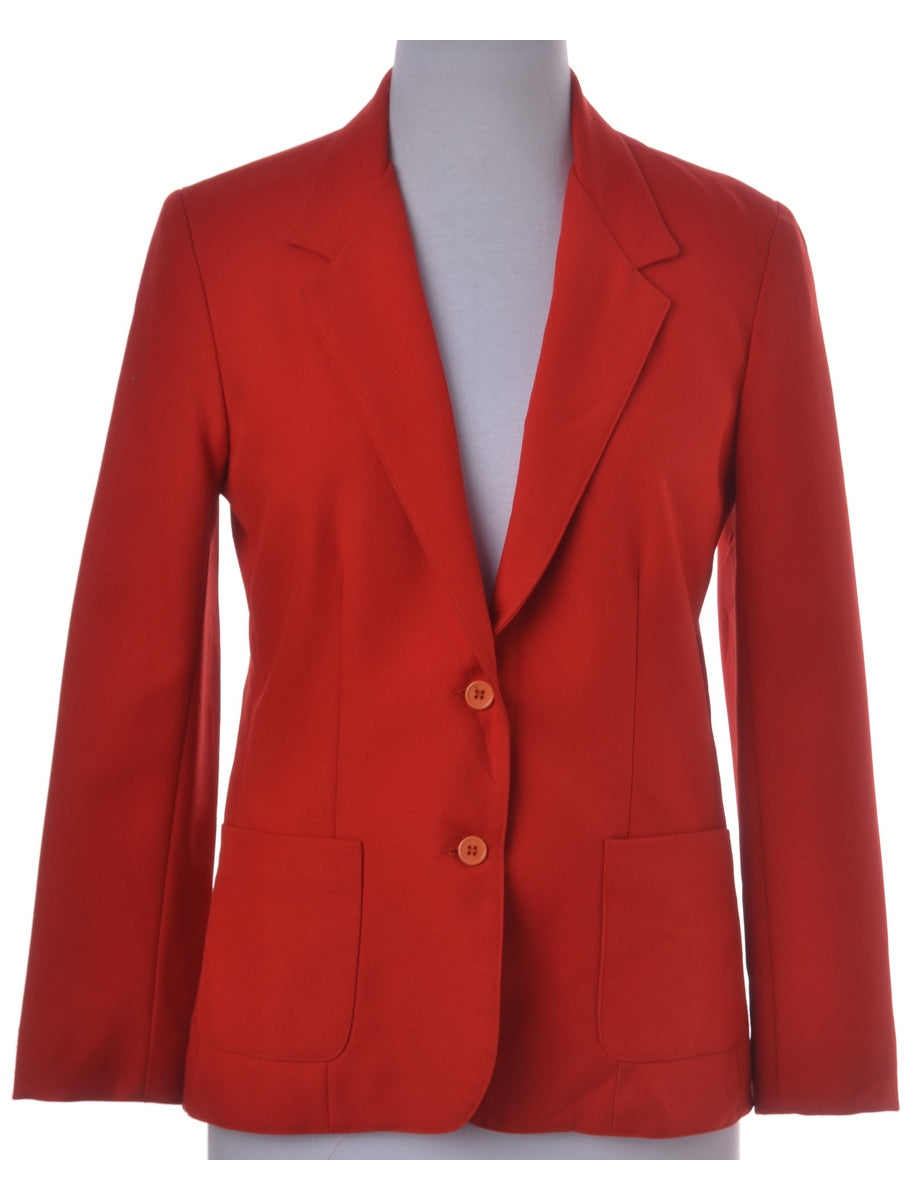 Beyond Retro Label Red Blazer