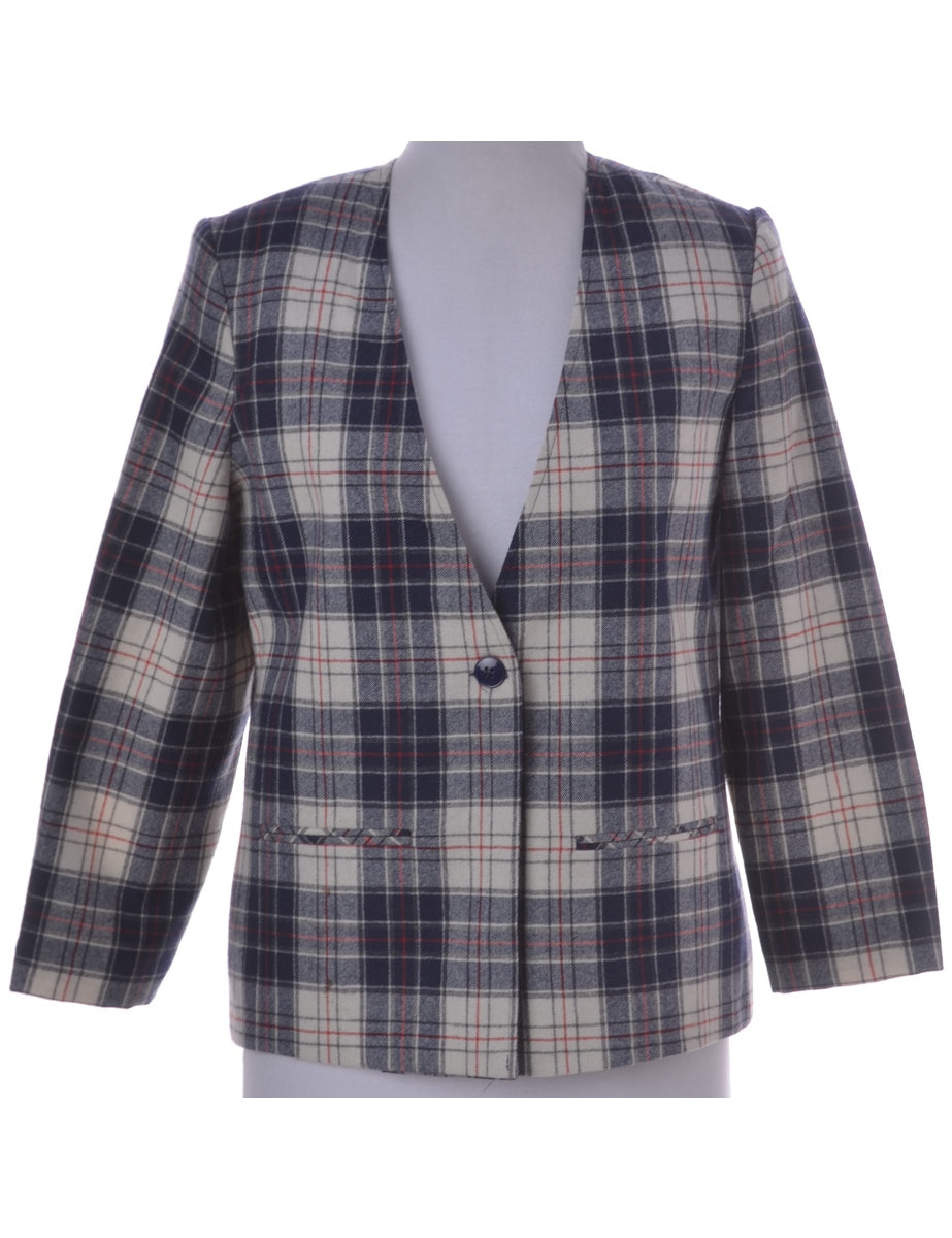 Beyond Retro Label Relaxed Fit Casual Jacket