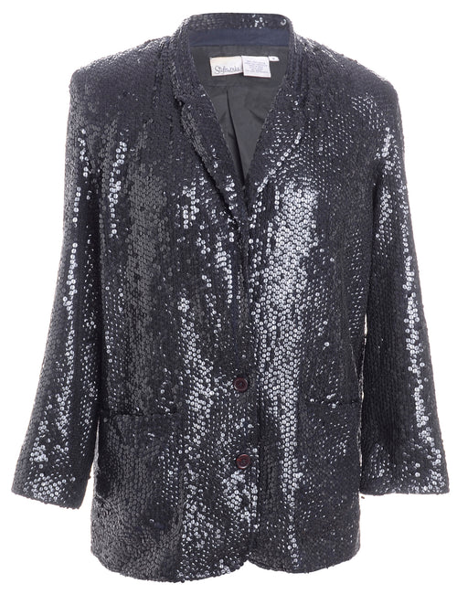 Sequined Evening Jacket