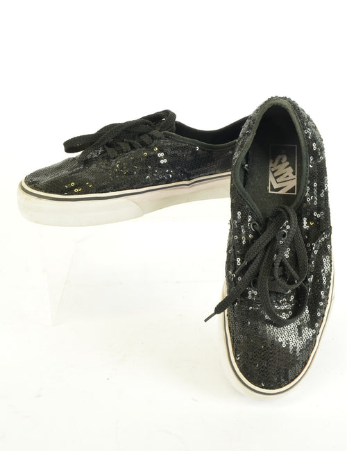 Sequined Vans Trainers