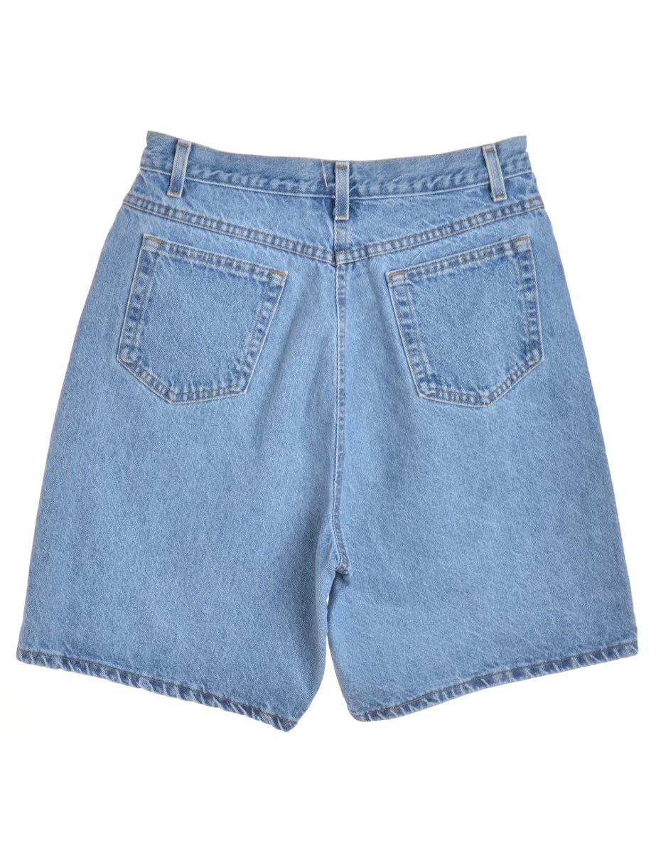 Beyond Retro Label Stone Wash Denim Shorts