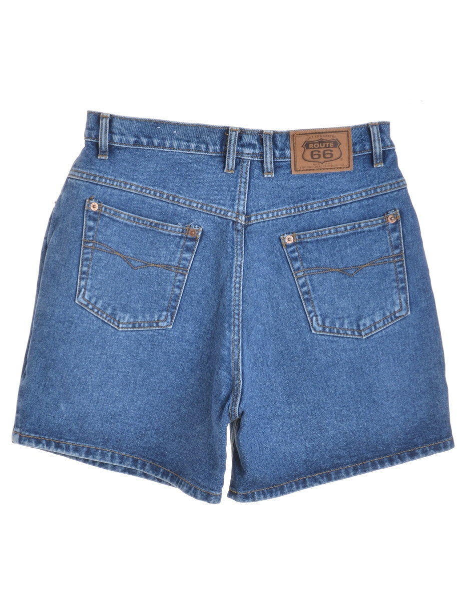 Beyond Retro Label Street Style Denim Shorts