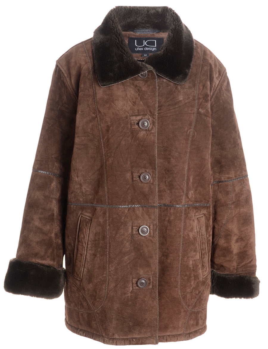Women's Free Country Plus Size Faux Fur Lined Coat NWT