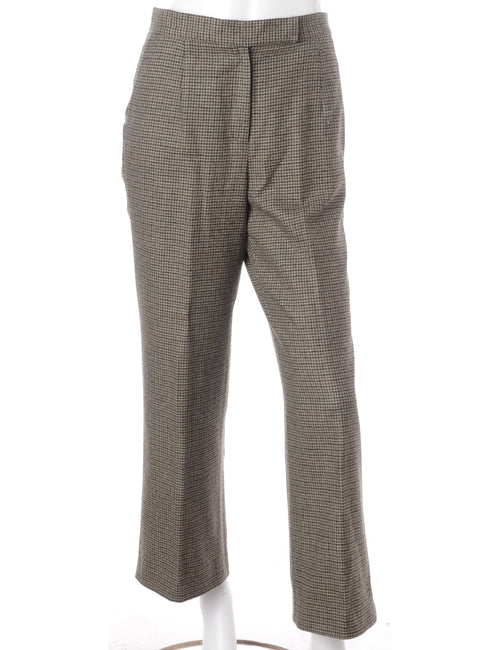 Talbots Houndstooth Smart Trousers