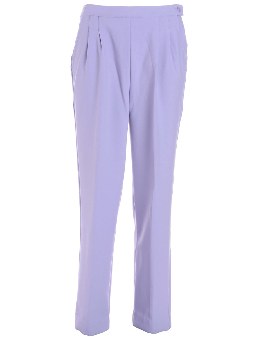 superior performance latest style great deals Women's Tapered Lilac Trousers Purple, M | Beyond Retro ...