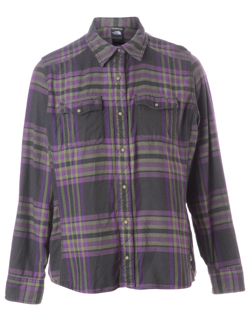 The North Face Plaid Western Shirt