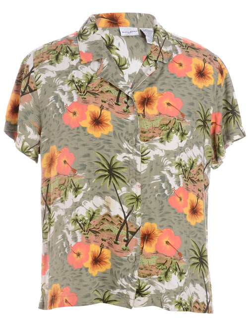 Tropical Hawaiian Shirt