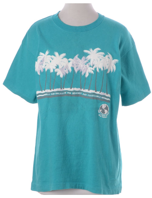 Tropical Printed T-shirt