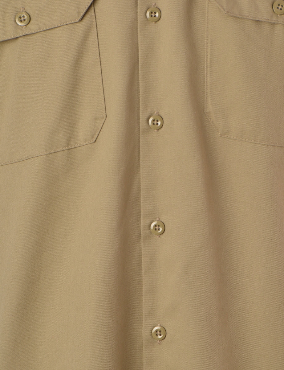 Label Beige Upcycled Dickies Shirt
