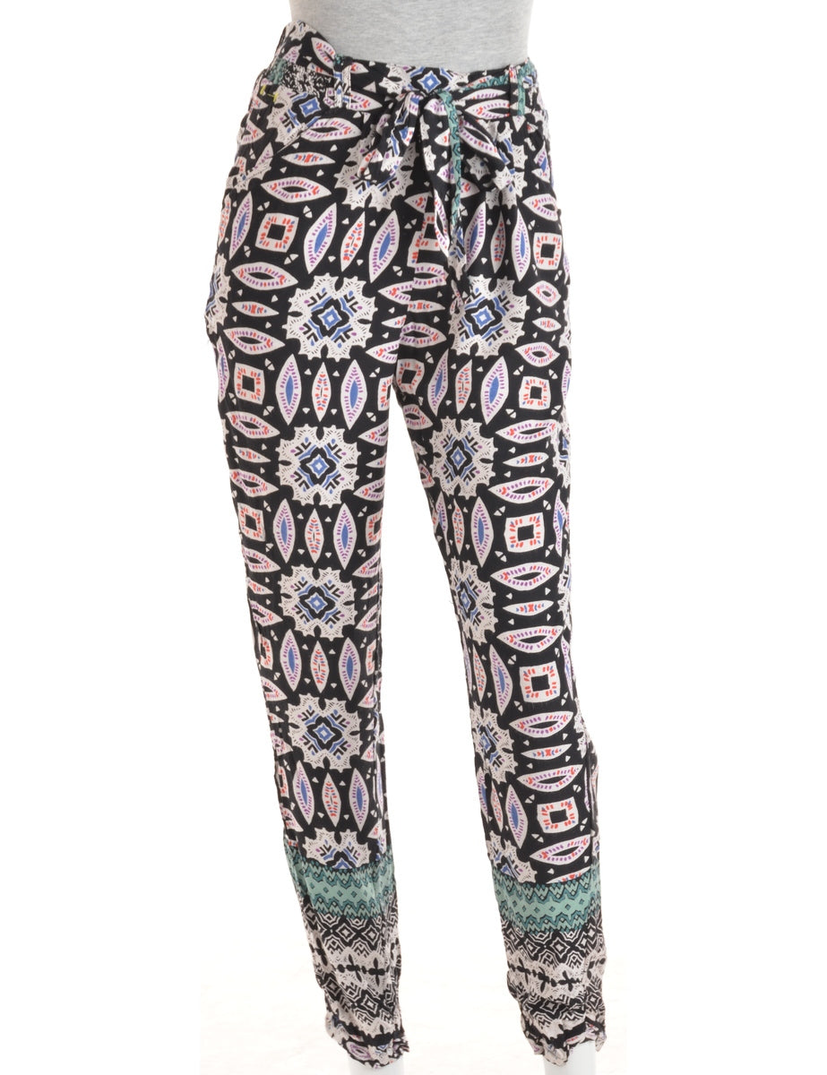 Multi-colour Summer Trousers