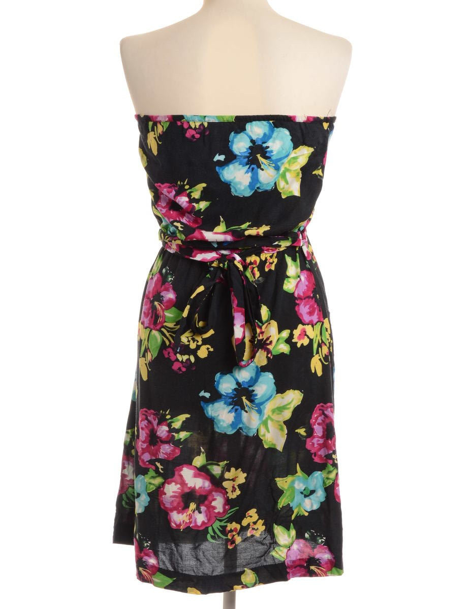 Summer Dress Black With Back Tie