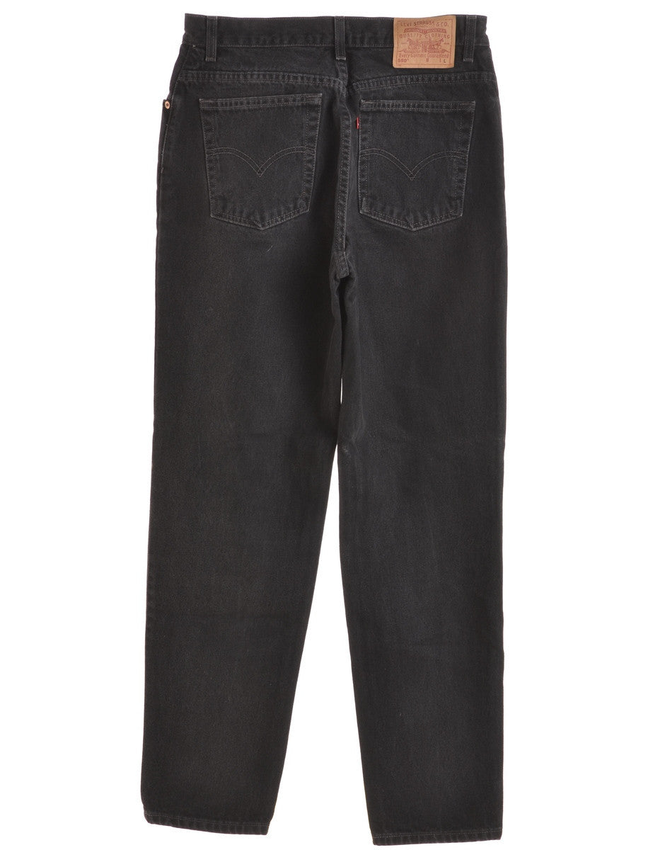 Levi's Jeans Black With Pockets