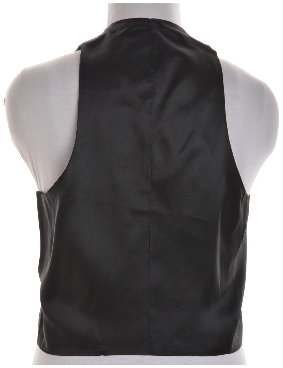 Vintage Waistcoat Multi-colour With Full Lining