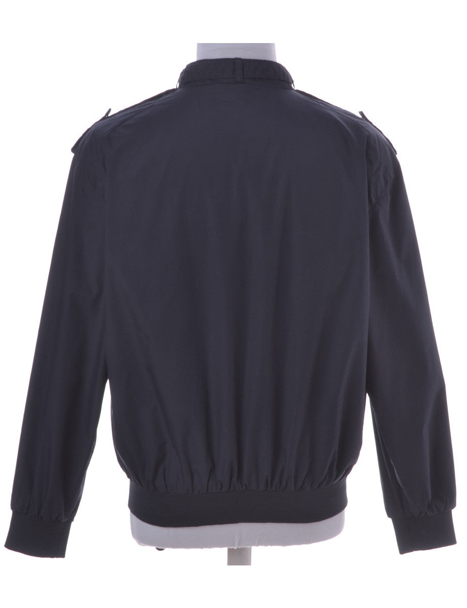 Casual Jacket Navy With Epaulettes