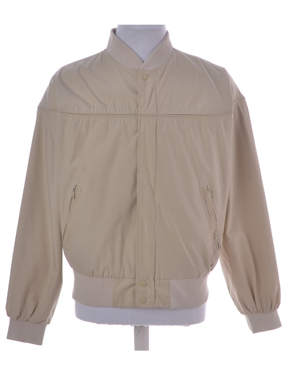 Beige Casual Jacket