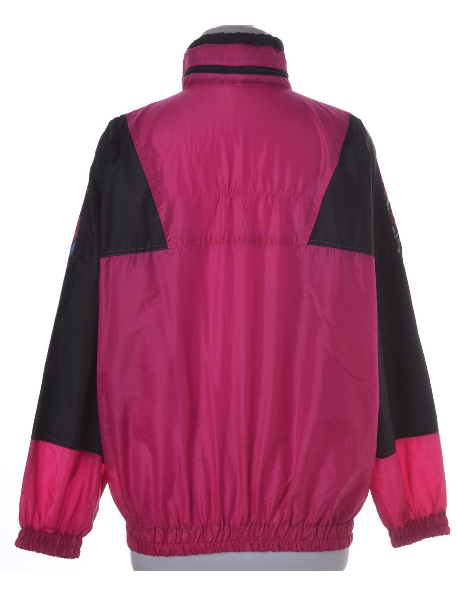 Casual Jacket Pink With Pockets