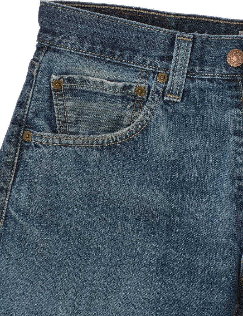 Levi's Jeans Washed Indigo With Pockets