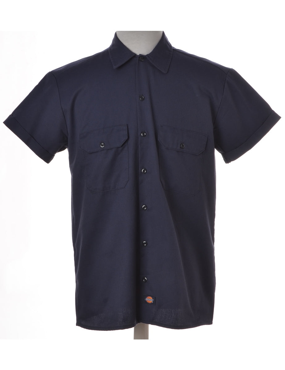Label Navy Upcycled Dickies Shirt