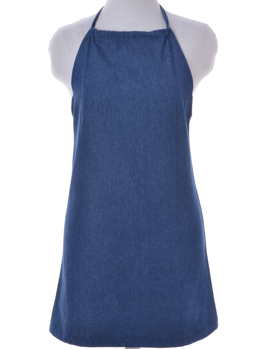 Halter Denim Dress