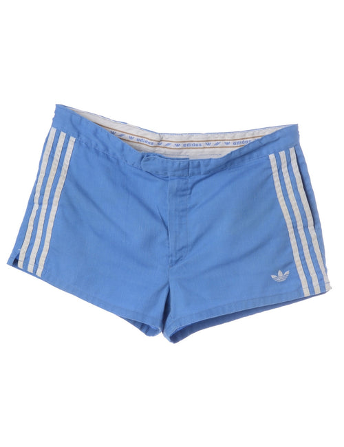 Vintage Sport Shorts Blue With Pockets