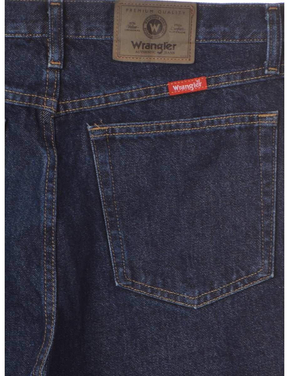 Label Straight Leg  Men's Cropped Jeans