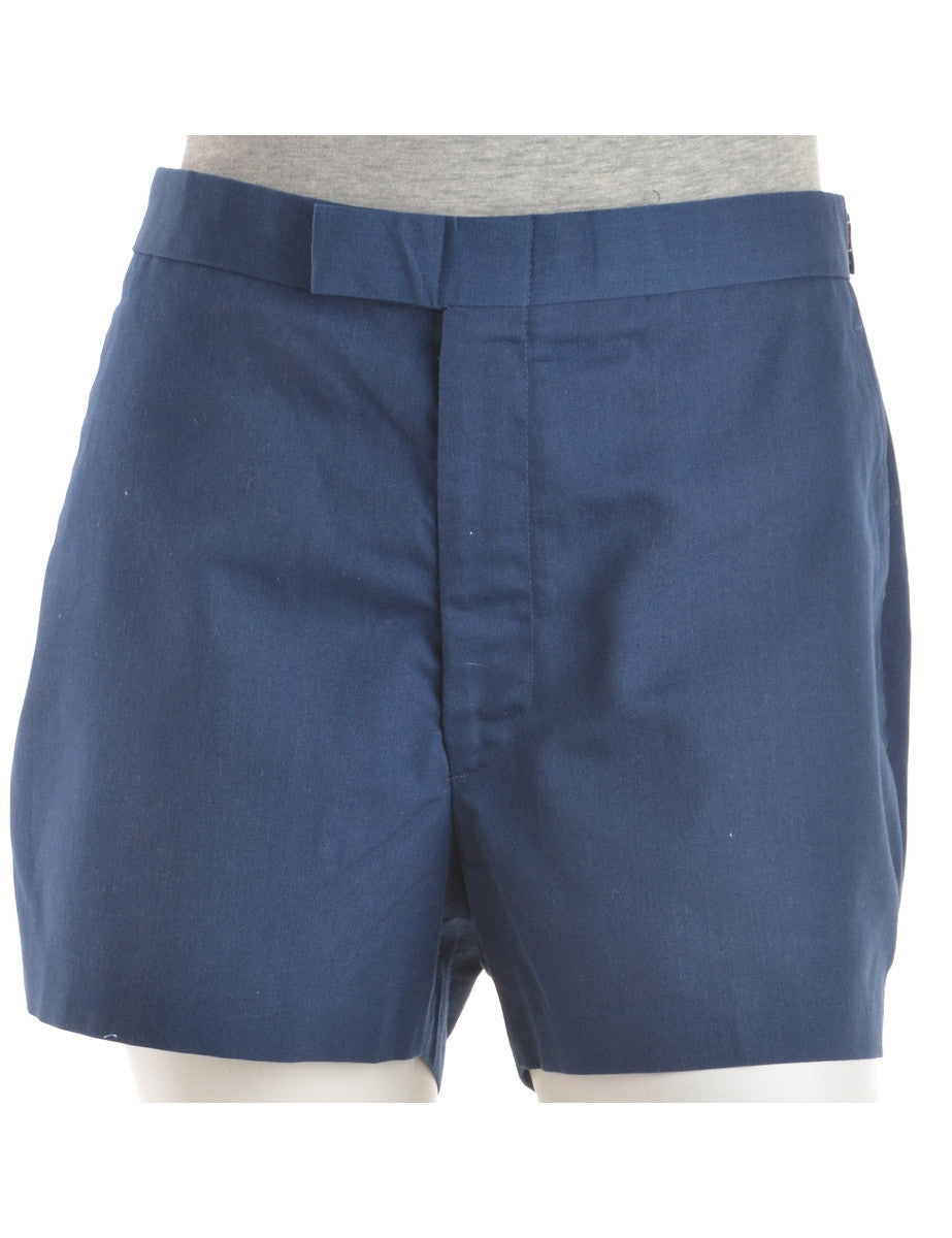 Casual Shorts Navy With Pockets