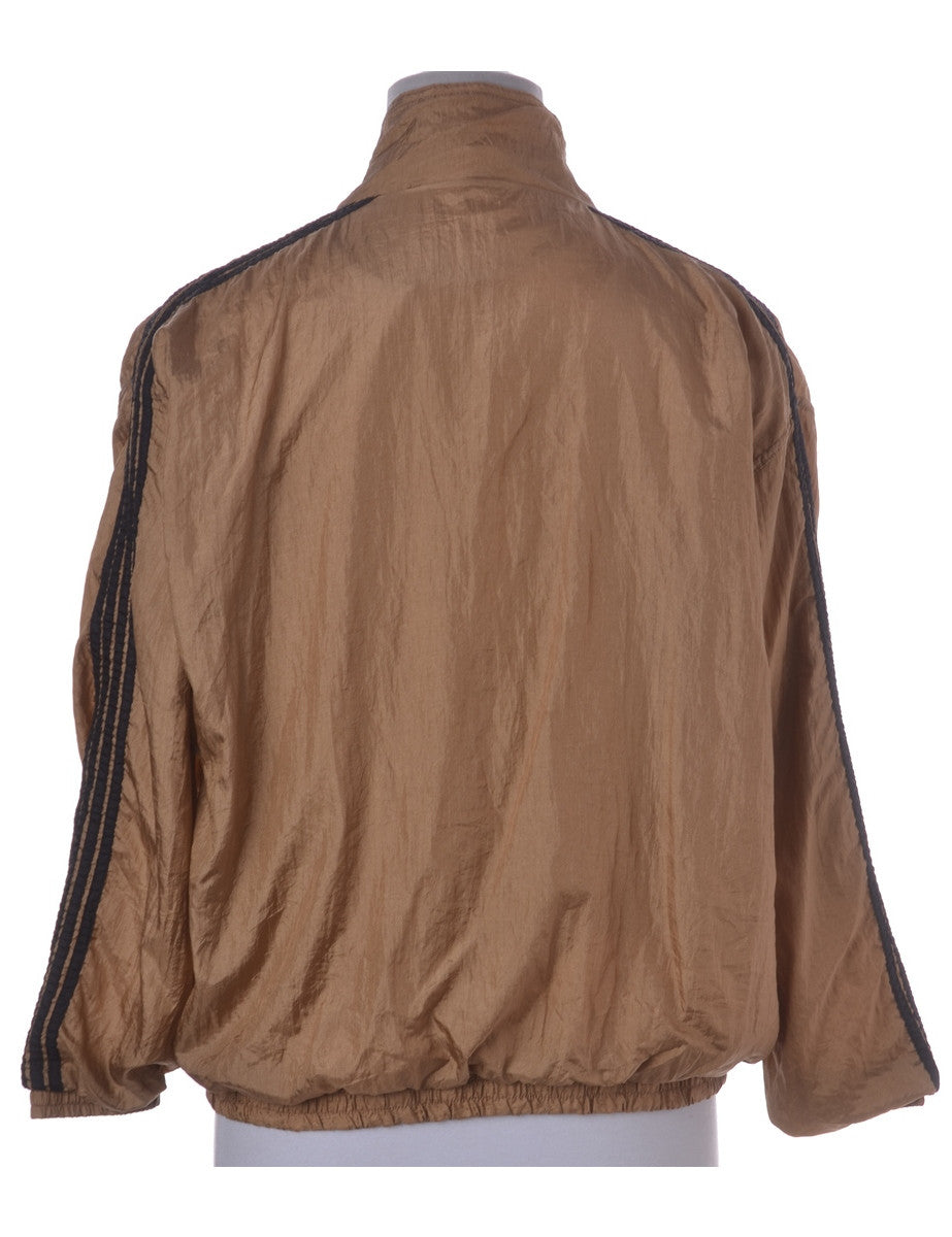 Casual Jacket Brown With Two Pockets