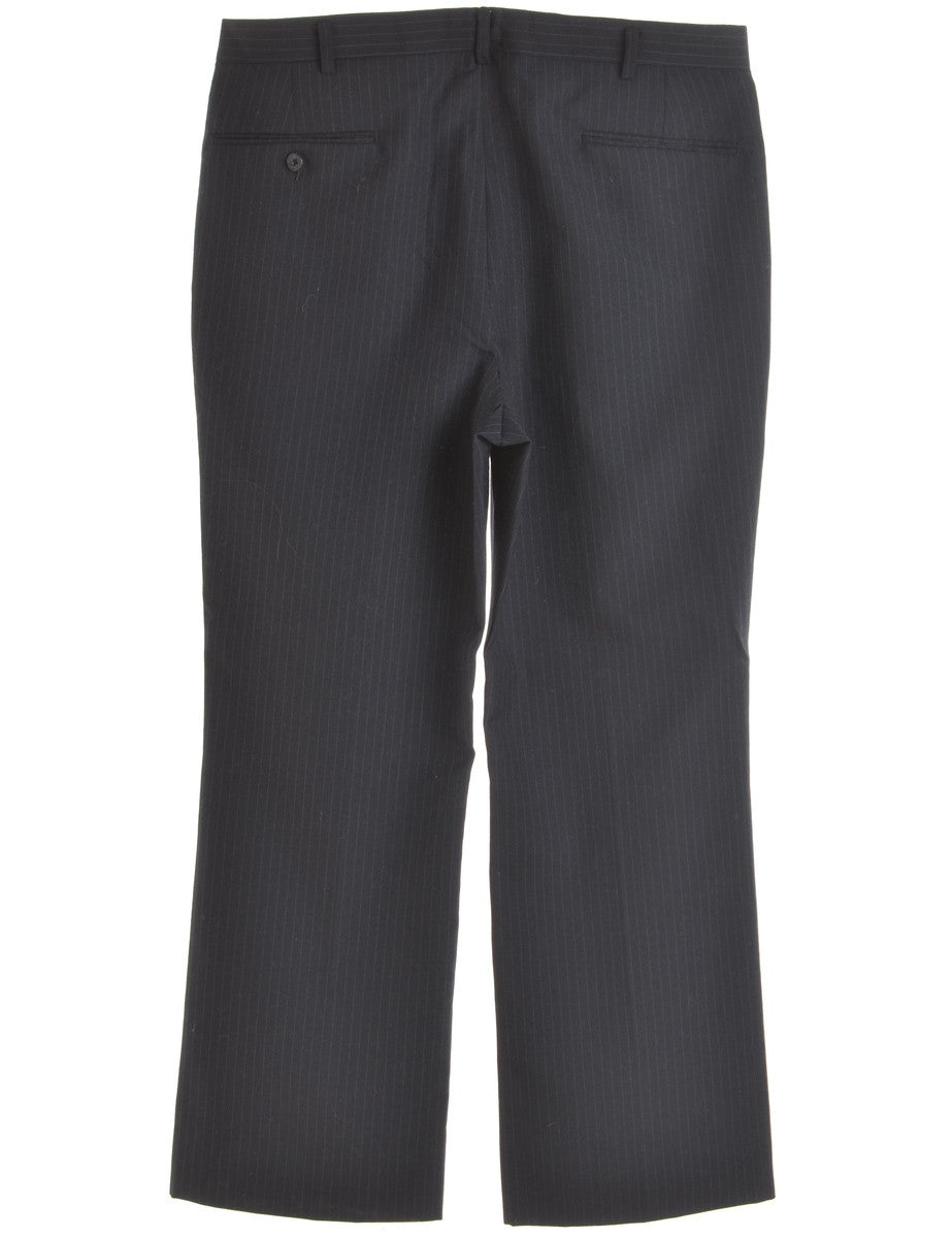 Smart Trousers Black With Multiple Pockets