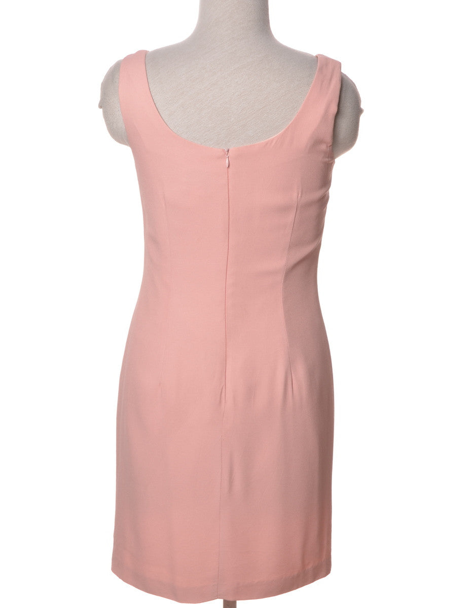 Day Dress Pink With Full Lining