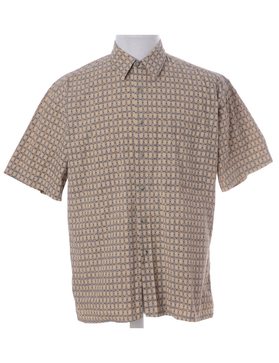 1990s Printed Shirt With One Pocket