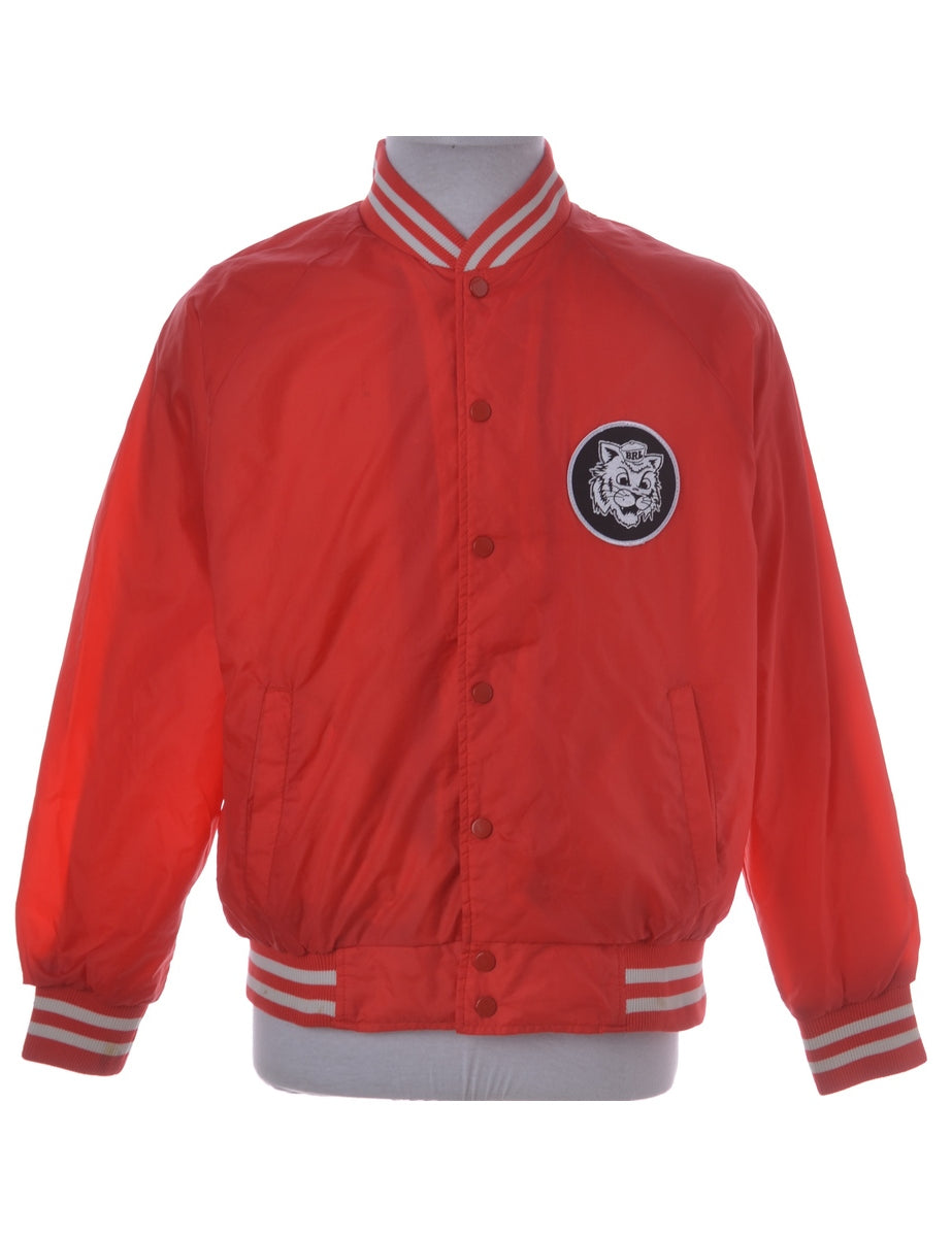 Beyond Retro Label Patch Baseball Jackets