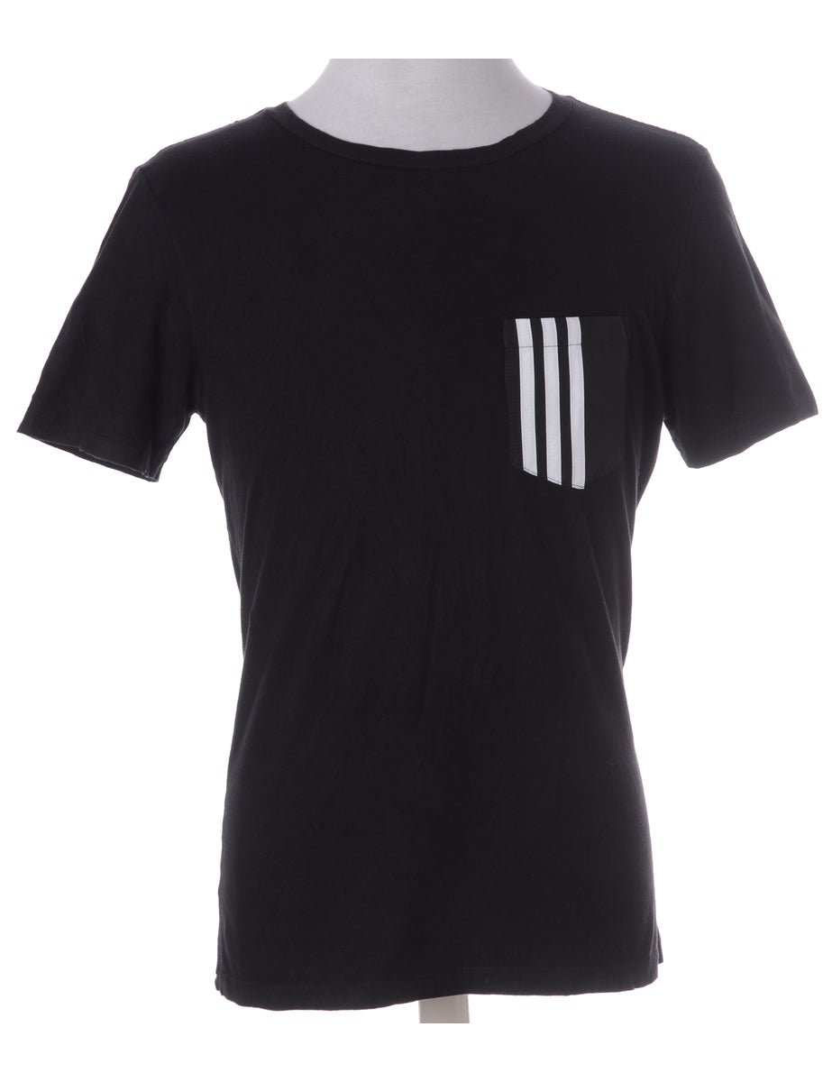 Beyond Retro Label Label Adam Stripe Pocket Tee