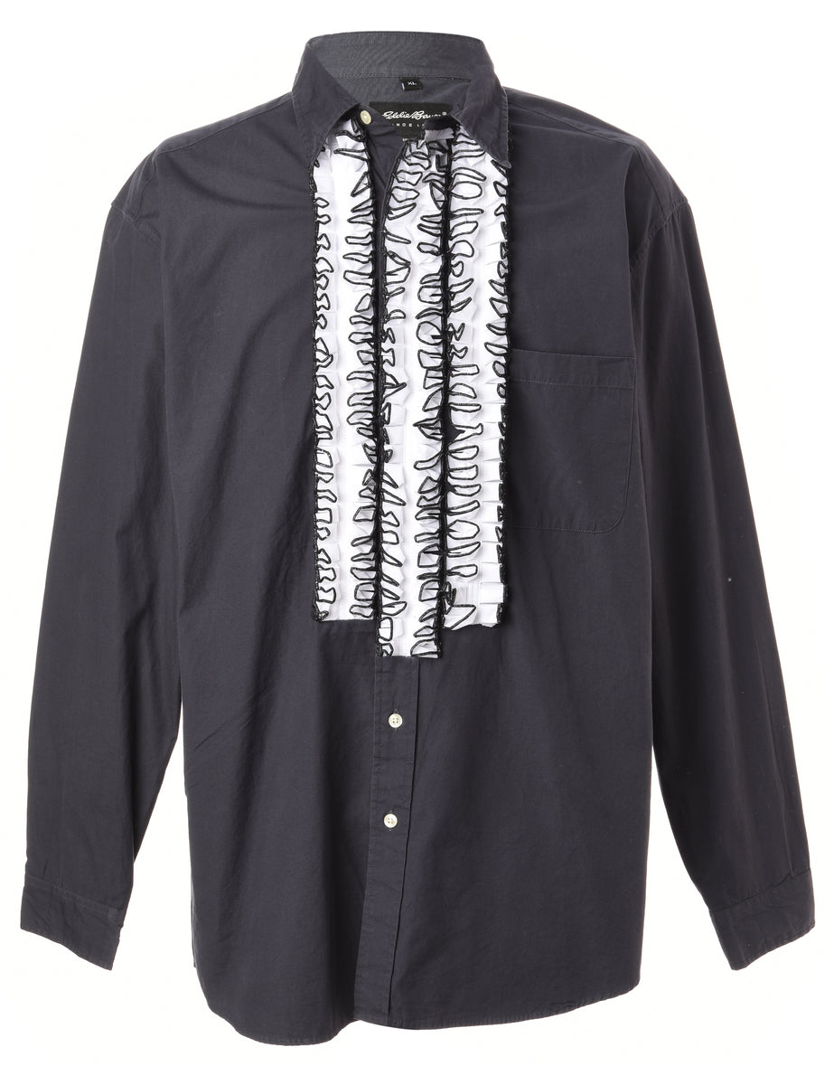 Beyond Retro Label Label Long Sleeved Ruffle Shirt