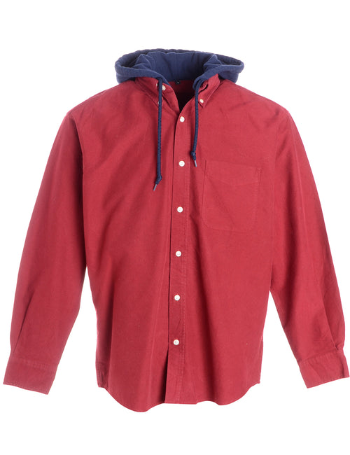 Label Red Theo Hooded Shirt