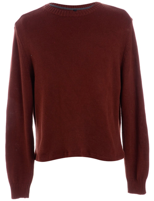 Label Shaun Straight Hem Heavy Knit Jumper