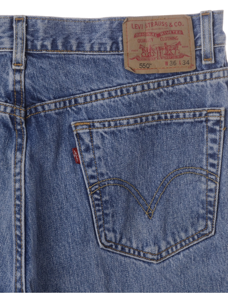 Beyond Retro Label Label Toby Mens Denim Shorts
