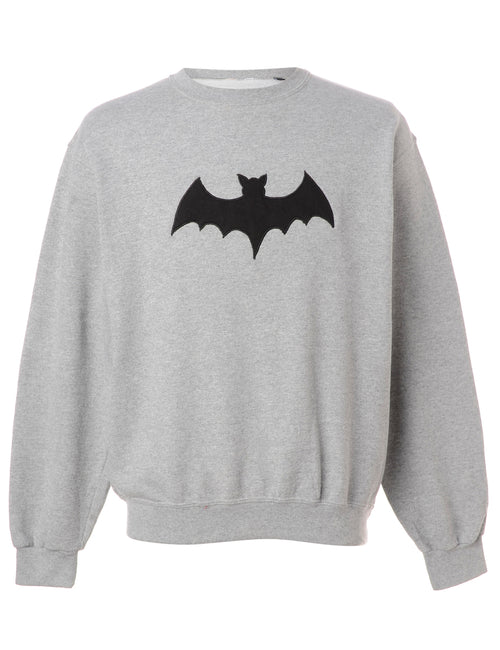 Reclaimed Embroidered Bat Sweatshirt