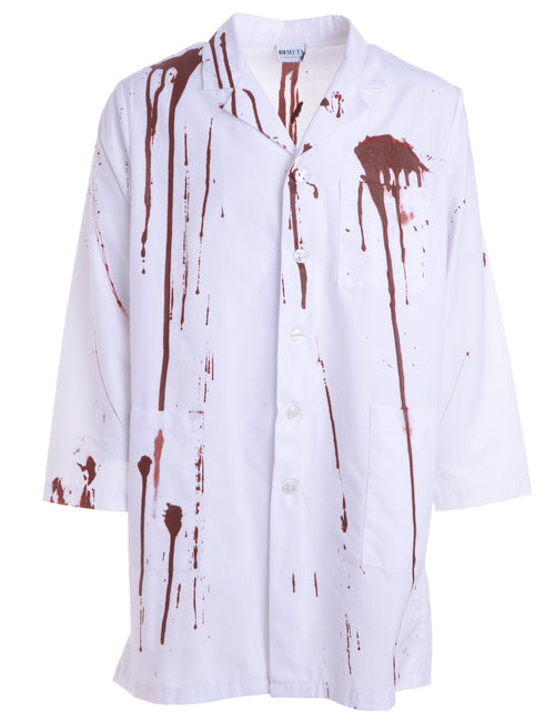 Label Blood Stunt Halloween Doctors Uniforms
