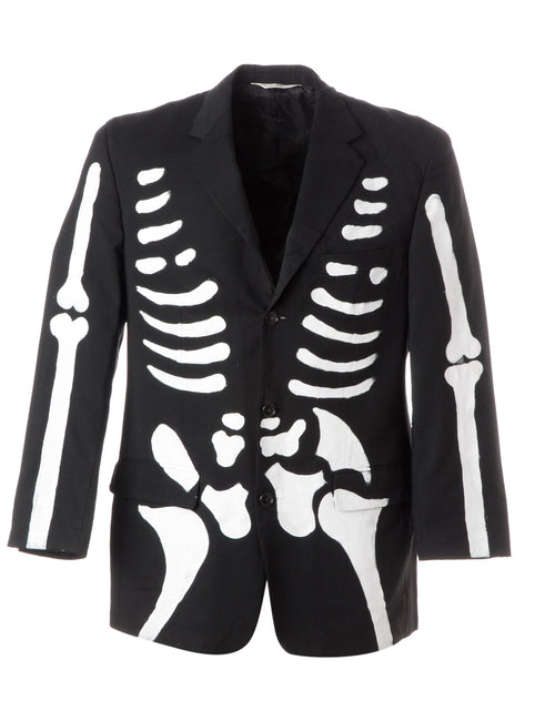 Label Jack Skeleton Suit Jacket