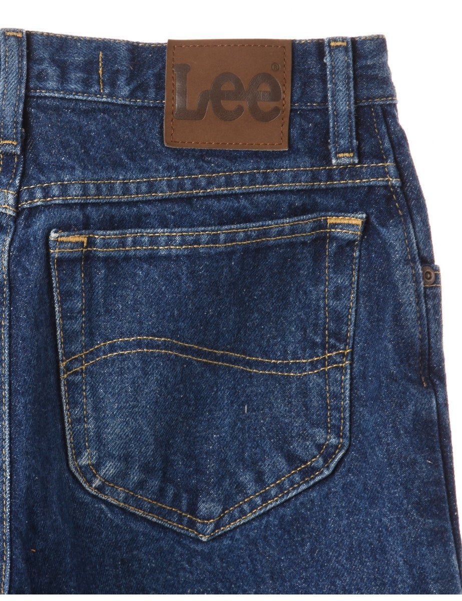 Beyond Retro Label Label Tapered Cropped Jeans