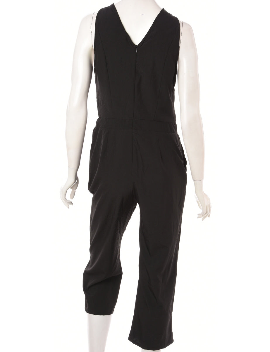 Label Alisha Cropped Jumpsuit - Playsuits & Jumpsuits - Beyond Retro