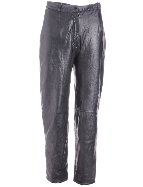 Label Bella Leather Cropped Trouser