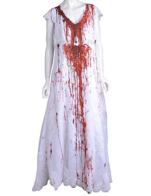 Label Blood Stunt Halloween Wedding Dresses