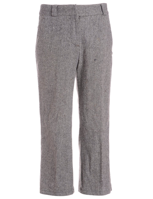 Label Cropped Dana Tapered Trousers