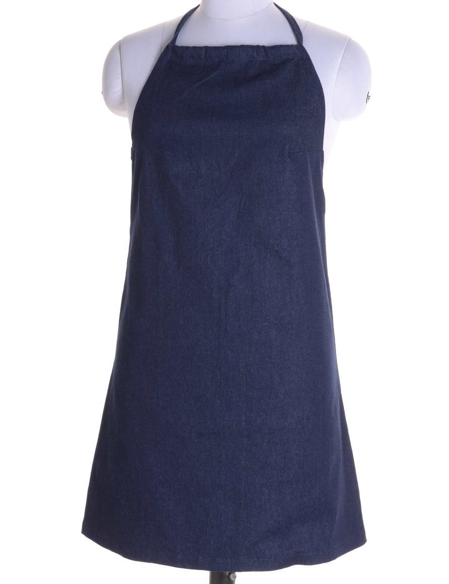 Beyond Retro Label Label Erin Denim Halter Neck Dress