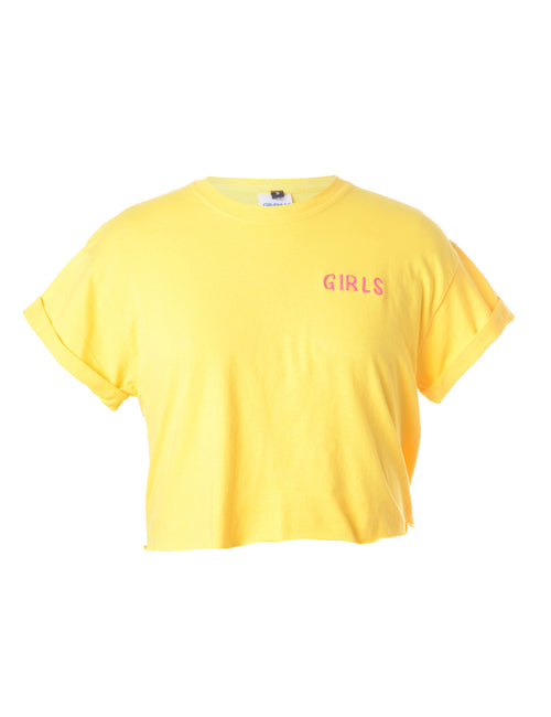 Label Girls Crop T-Shirt